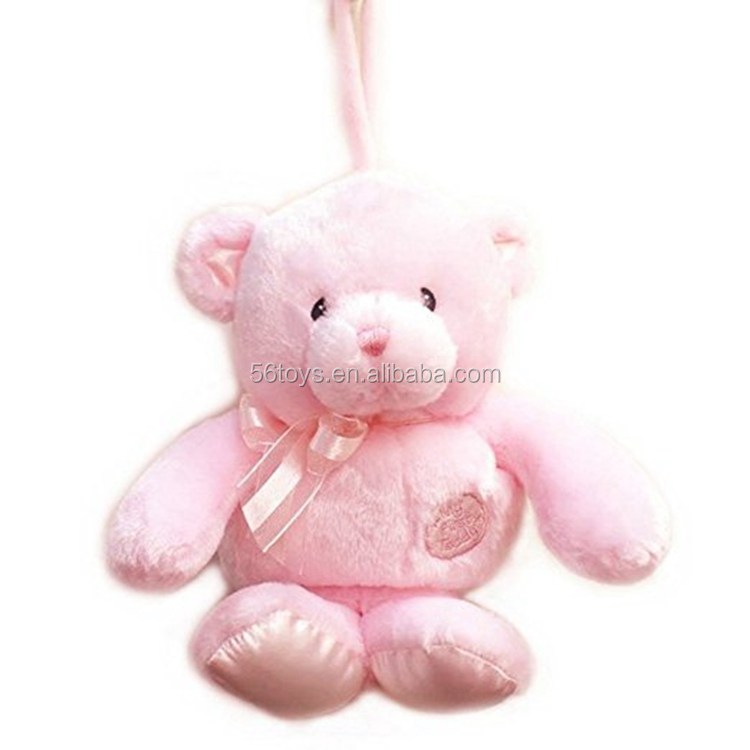 High quality pull string musical baby plush toys