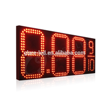 42'' led electronic billboards gas station price display