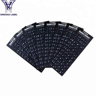 Wholesale Customized Design Laptop Keyboard Stickers Labels