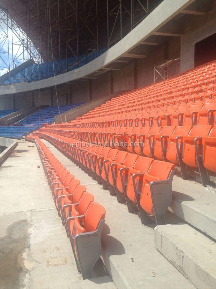 Metal Stadium Seats : Blm rise mounted wholesale stadium chair plastic seat