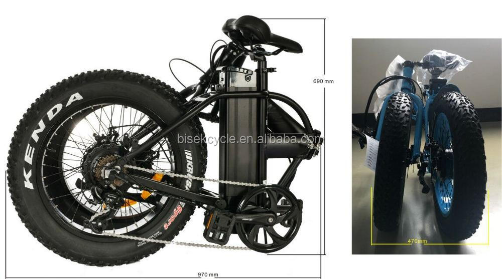 Chinese OEM electric fat tire bike Lithium battery electric beach cruiser
