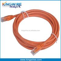utp cat5e lan cable 4pr 24awg rj45 outdoor fiber patch cord