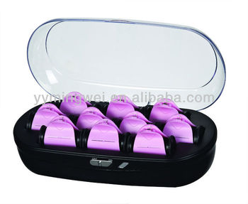 Curly Hair Tools Automatic Hair Curling Rollers Double Heated ...