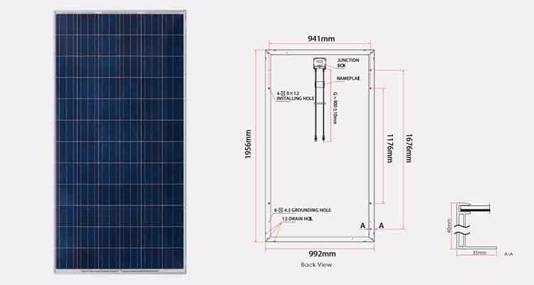 Trina Hanwha Ja Jinko Yingli Solar Module 250w 255w 260w