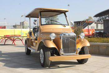 Luxe Elektrische Bestelwagen Elektrische Klassieke Auto Slimme Ecar