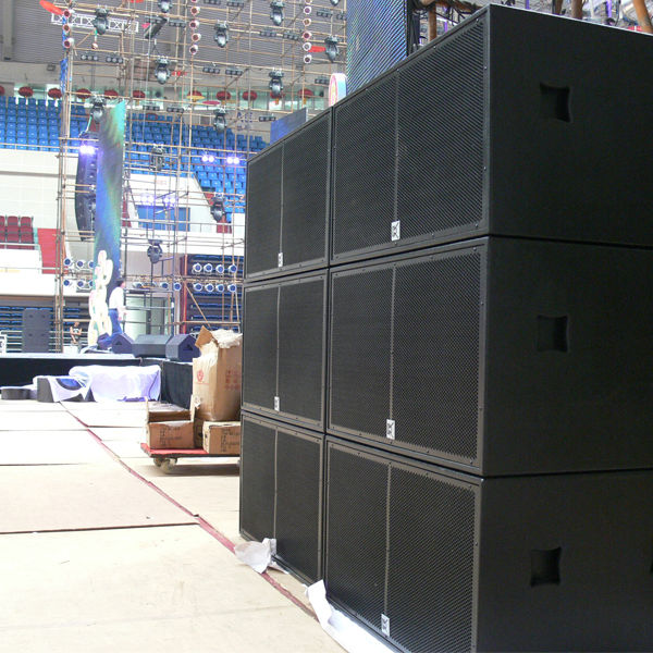Dual Subwoofer Box Studiolive 18 Inch Bass Speakers Buy