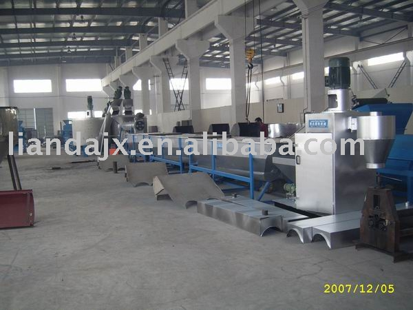 pet bottles recycling line/pet washing,drying line