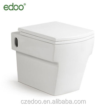Incredible Wall Hung Toilet New Square Shape Model Wall Hung Toilet Including Seat Cover From Chaozhou Edoo View Squat Toilet Edoo Product Details From Machost Co Dining Chair Design Ideas Machostcouk