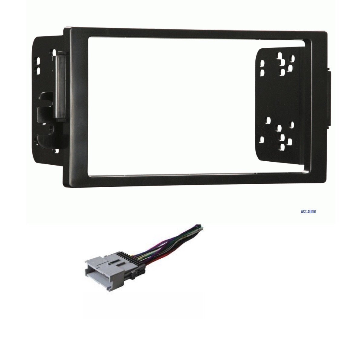 Get Quotations · Car Stereo Dash Kit and Wire Harness for Installing a new  Double Din Radio for 2004
