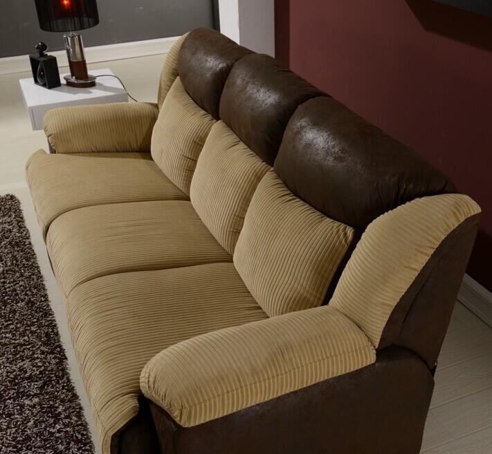Sofá reclinable eléctrico en cuero/mejor sillón reclinable silla ...