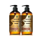 Private Label Argan Oil With Ginger Anti Hair Loss Shampoo And Conditioner Set