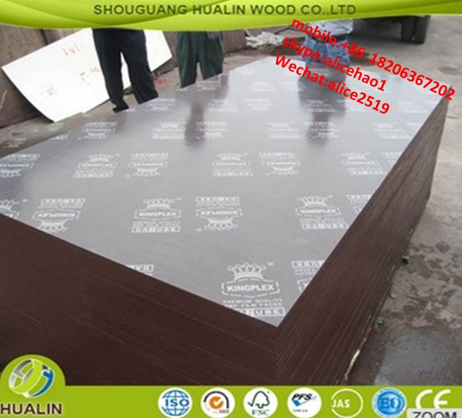 shandong shouguang film faced shuttering plywood different types of plywood film faced plywood