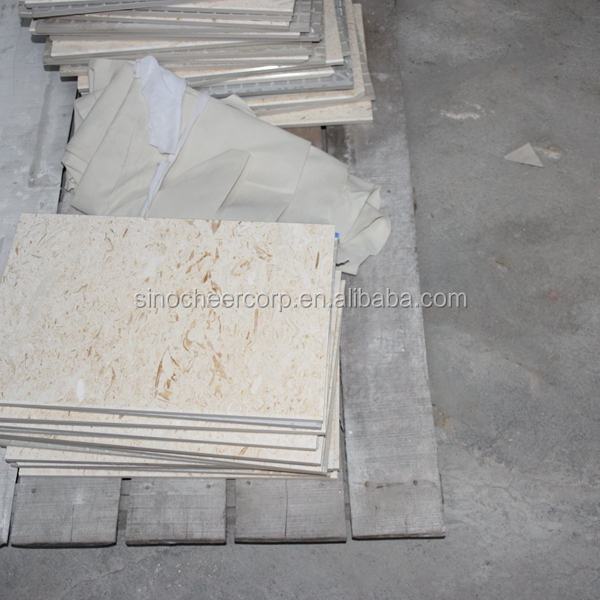 2017 hot sale Cream Travertine Beige Marble Tiles for Marble Buyers