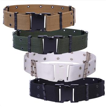 Military Camo Webbing Belt Fabric Belt Pistol Belt - Buy Military Cotton  Web Belts,Military Style Canvas Fabric Belt,Fabric Woven Belt Product on