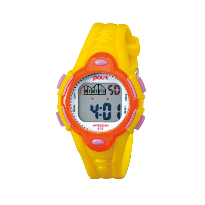Factory direct rubber band led cheap jelly vogue silicone sports children watch