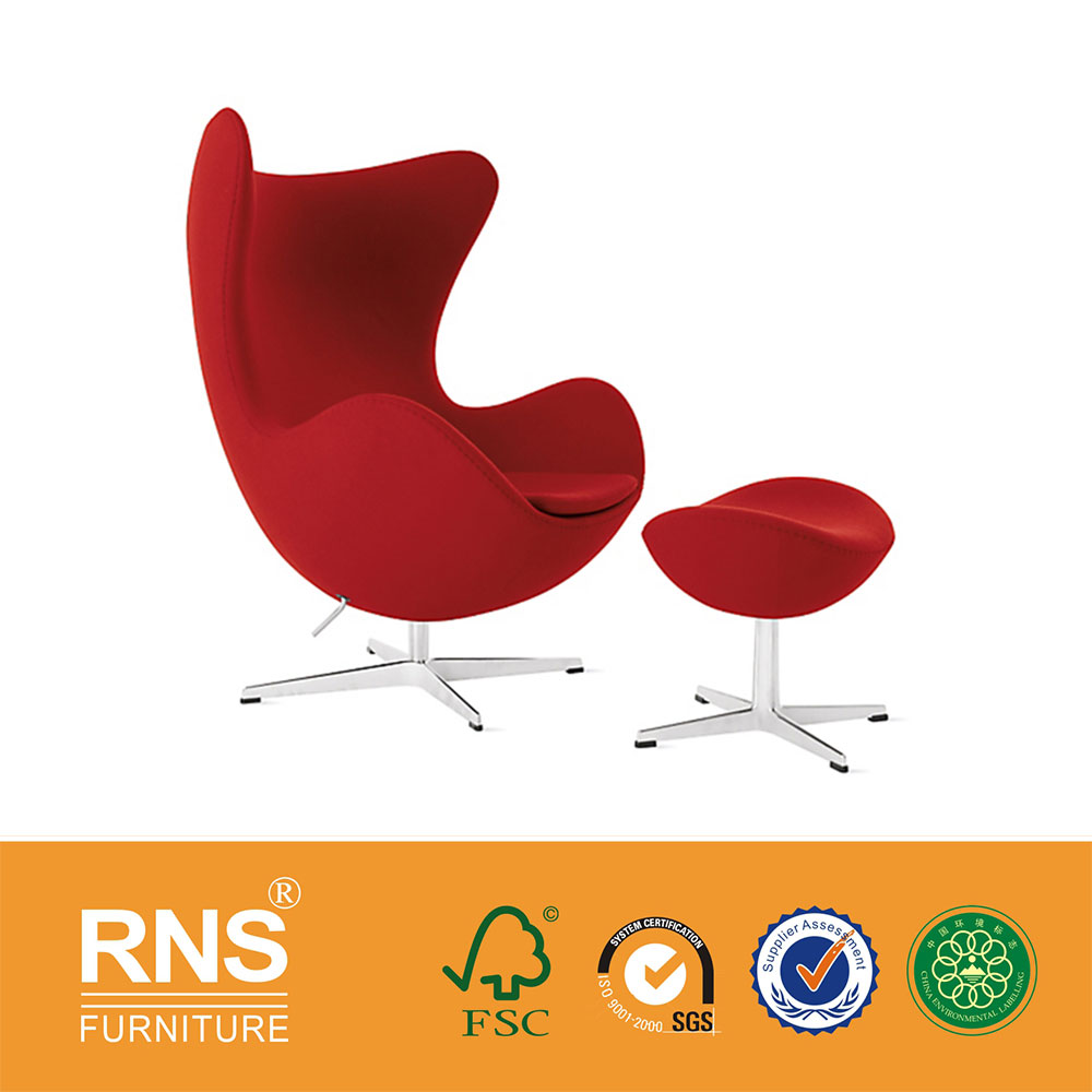 Egg Chair With Ottoman, Egg Chair With Ottoman Suppliers and ...