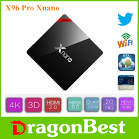 X96 Pro Xnano S905X 2G 16G 4k android iptv arabic tv box Cable set top price Android 6.0 TV Box