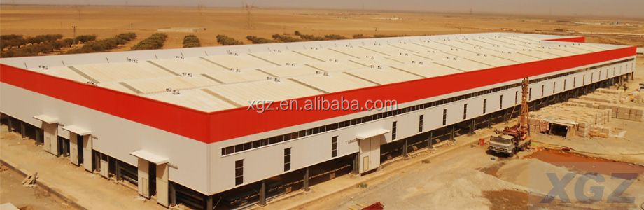 Prefabricated Construction Design Steel Structure shopping mall