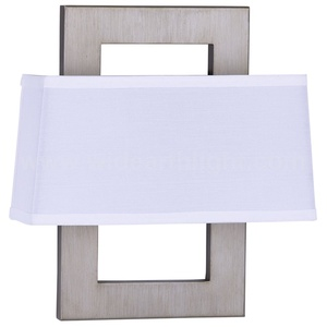 UL CUL Approved Wall Lamp Brushed Nickel Hotel Hospitality Lighting W20363
