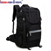 "Hiking college gym computer bag weekend travel 20 inch laptop backpack fits 17"" laptop"
