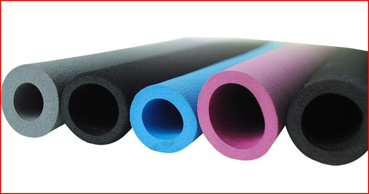 Custom Color Foam Pipe Insulation Buy Color Foam Pipe