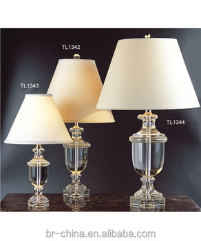 classic style clear crystal table desk lamp for the home. Black Bedroom Furniture Sets. Home Design Ideas