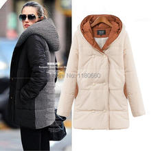 New 2014 Fashion Brand font b Winter b font Coat Women Long Style Duck Down Jacket