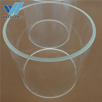Large Diameter Borosilicate Glass Tube With Competitive Prices - Buy Glass  Tubes With Corks,Borosilicate Glass Tube For Lamp,Borosilicate Glass