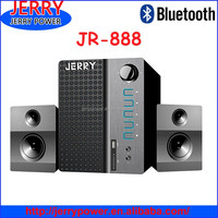 2.1 ibastek speaker with fm radio /ohm dj speakers
