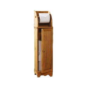 Bathroom Wooden Toilet Paper Storage Cabinet