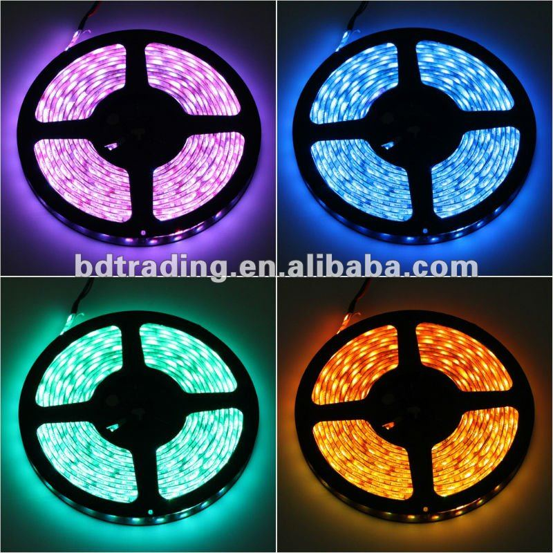 Led light strip DC12v Outdoor waterproof 110V 220V smd 5050 3528 RGB led tape strip light IP68 Flexible full color