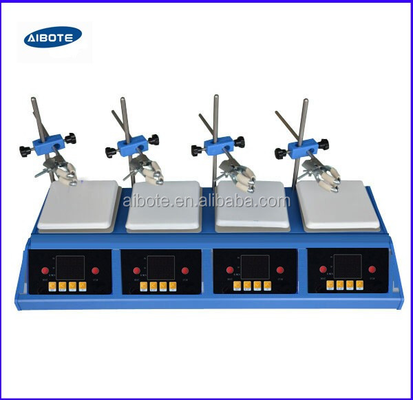 W/Stir bars 400 degree , hot heating stirring plate Max heated magnetic stirrer