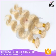Hot Selling Peruvian Blonde Loose Wave Hair Weave For White Woman