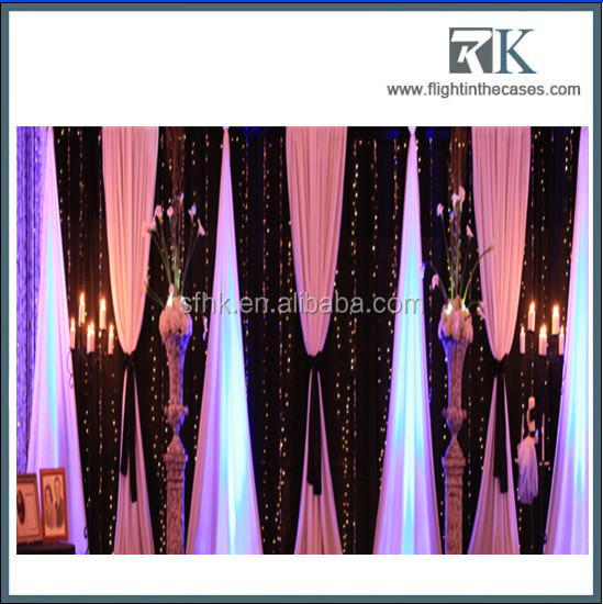 Want to know more use of pipe and drapes, please contact our consultants for more detials