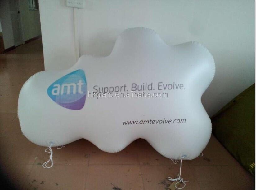 Cloud print latex balloons