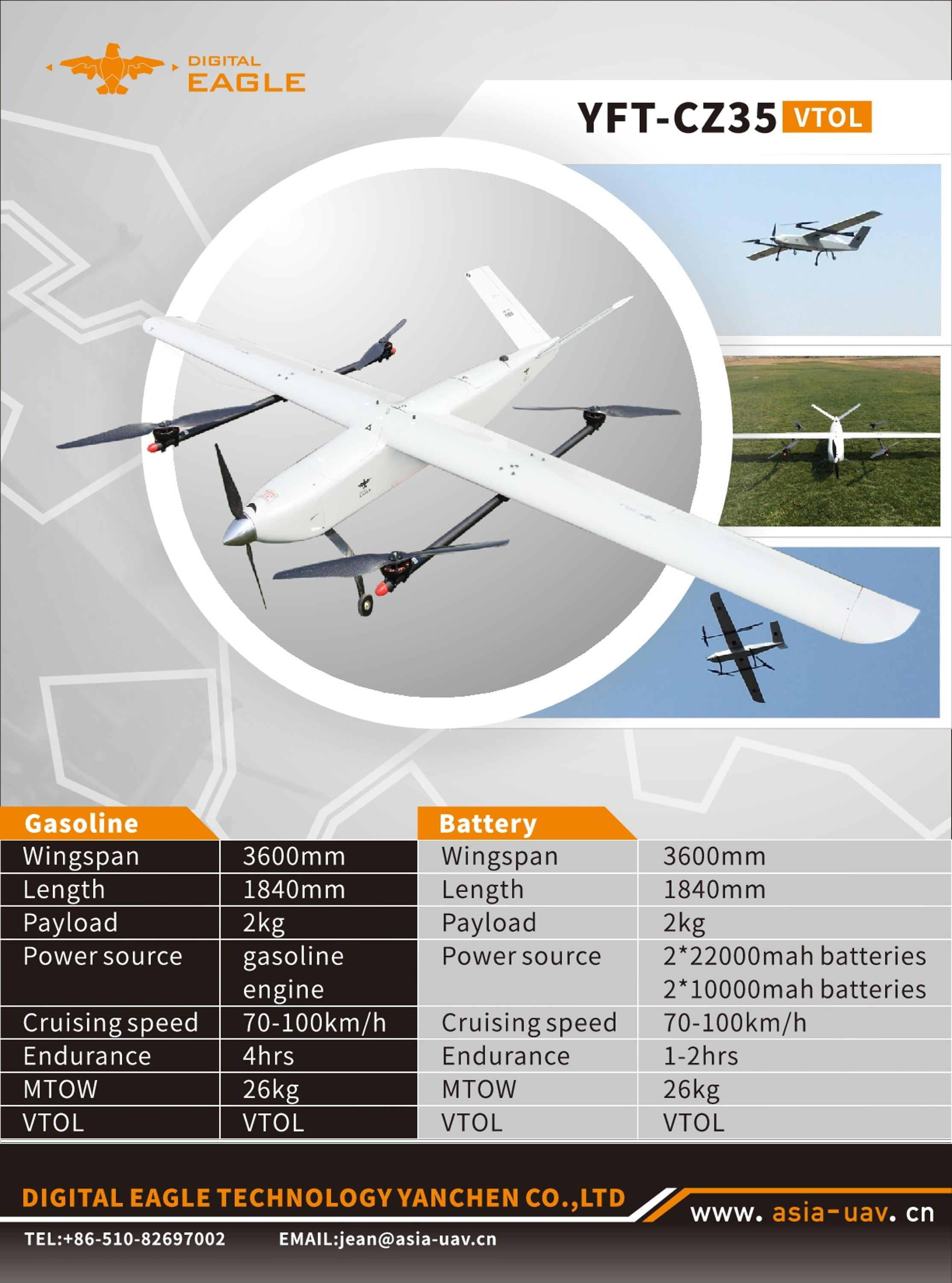 Aerial Survey Uav Fixed Wing Surveillance Gas Powered Drones For Sale Drone Camera Hd