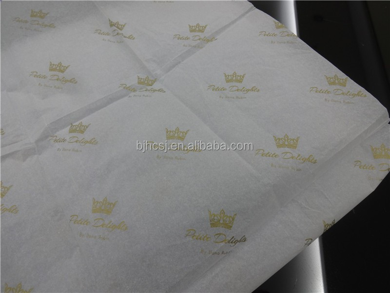 Cheap price custom 17gsm tissue wrapping paper solf with logo