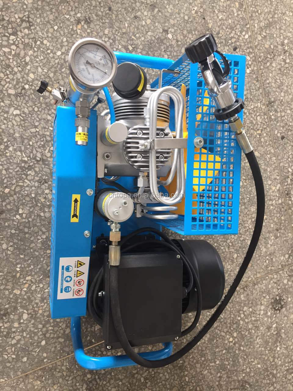 Portable Hookah Breathing Air Compressor System For Scuba