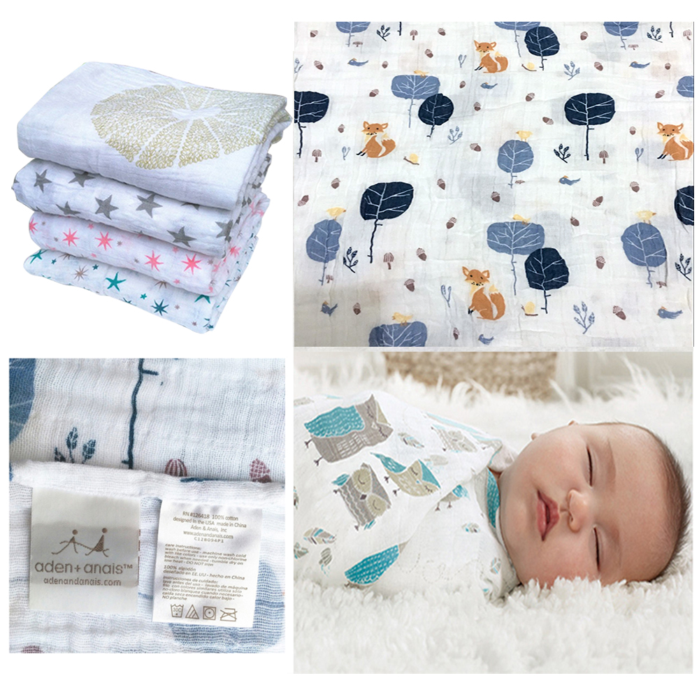 Aden by Aden + Anais Swaddle Baby Blanket, % Cotton Muslin, 4 Pack, 44 X 44 inch, Safari Babes - Tiger/Zebra/Elephant. by aden + anais. $ $ 34 FREE Shipping on eligible orders. out of .