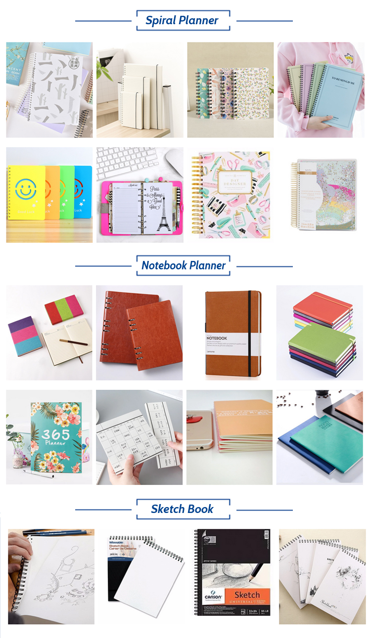 Custom Eco-friendly Customize Soft a4 Leather Notebook Uae