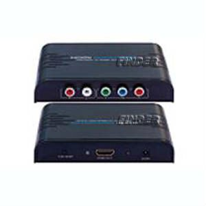 Composite YUV to hdmi conveter box,YPbPr + Audio (RCA) to hdmi converter for 1080p