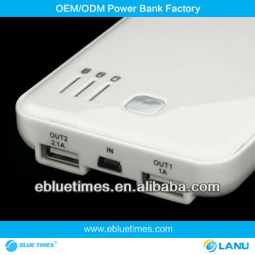 Emergency LP-502A 5000mah move power bank for htc one x
