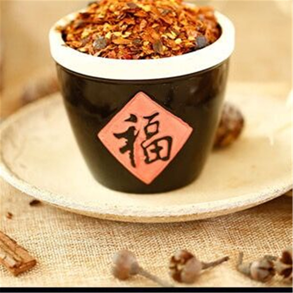 flavor dried red Paste chili with seeds from Factory