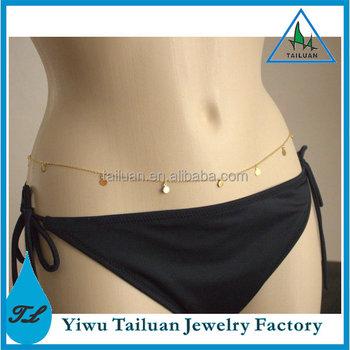 0b94f7a480f6d Charm Coin Waist Chain Sexy Gold Plated Belly Chain - Buy Belly Chain,Sexy  Belly Chain,Gold Plated Belly Chain Product on Alibaba.com