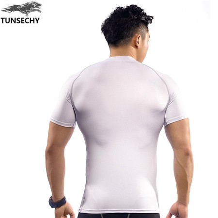 2017 Newest high quality compression seamless t shirts for men