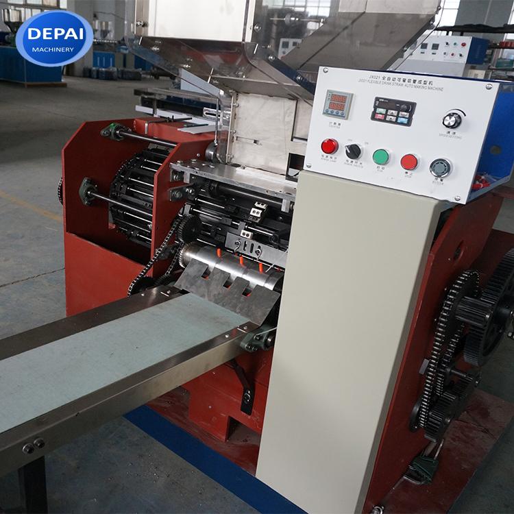Cheap price flexible drinking straw manufacturing machine of bent straw