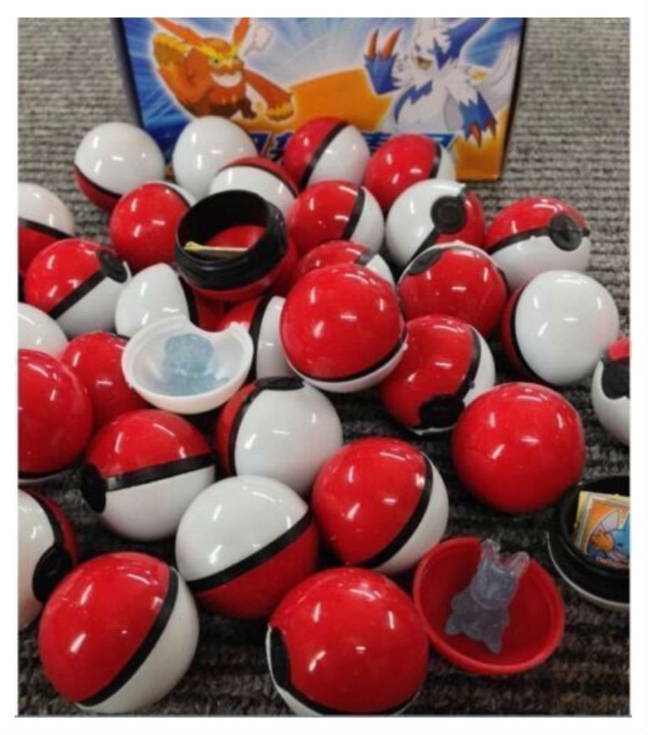 "36Pcs/Lot ABS Anime action Figures Pokemon Go balls Master Ball Kids Toys POKEMON PIKACHU STAINLESS STEEL 1"" PENDANT ON 16""- 18"" Hot Trend Now"