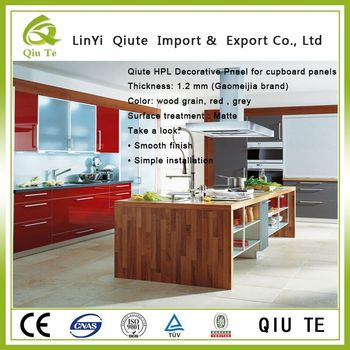 Humidity Heat Impact Resistant Kraft Paper Hpl Laminate For Kitchen