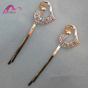 Shiny crystal chinese hairpins hair ornaments