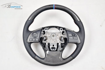 Customization Carbon Fiber Racing Car Steering Wheel For Mitsubishi Outlander Wood
